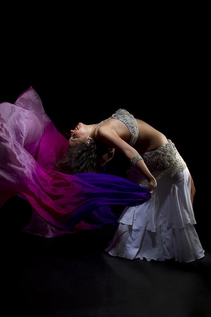 Danza con velo